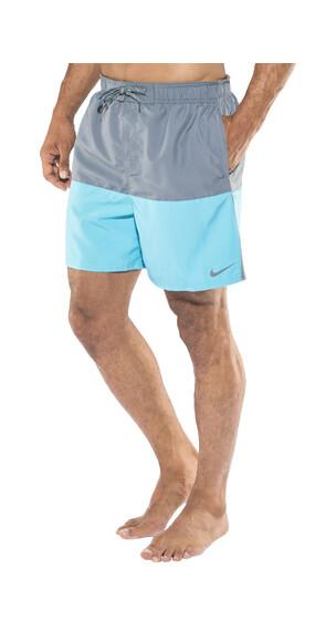"""Nike Swim Core Split 5.5"""" Volley zwembroek Heren blauw"""